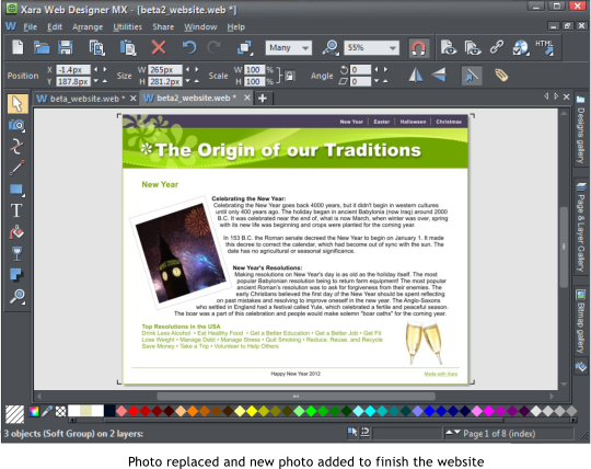 Xara Outsider April 2012 A Beginner S Guide To Web Designer Mx 8 Page 4